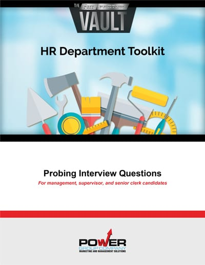 Interview Questions for Salon Manager and Senior Sales Associate Candidates